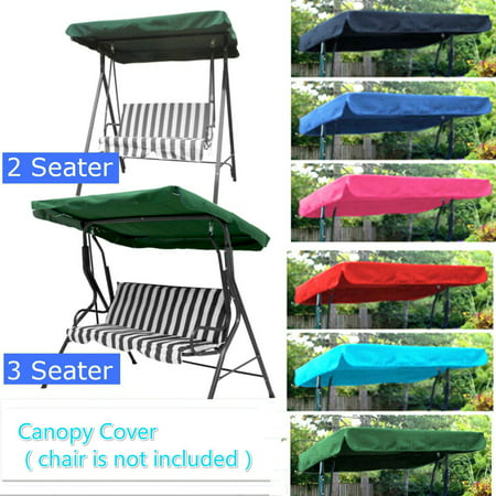 Asewin 2 & 3 Seater Sizes Spare Cover Replacement Canopy Swing Seat for Garden ()
