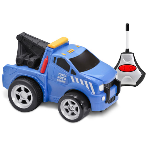 Kid Galaxy Soft, Safe and Squeezable Remote-Control Tow Truck