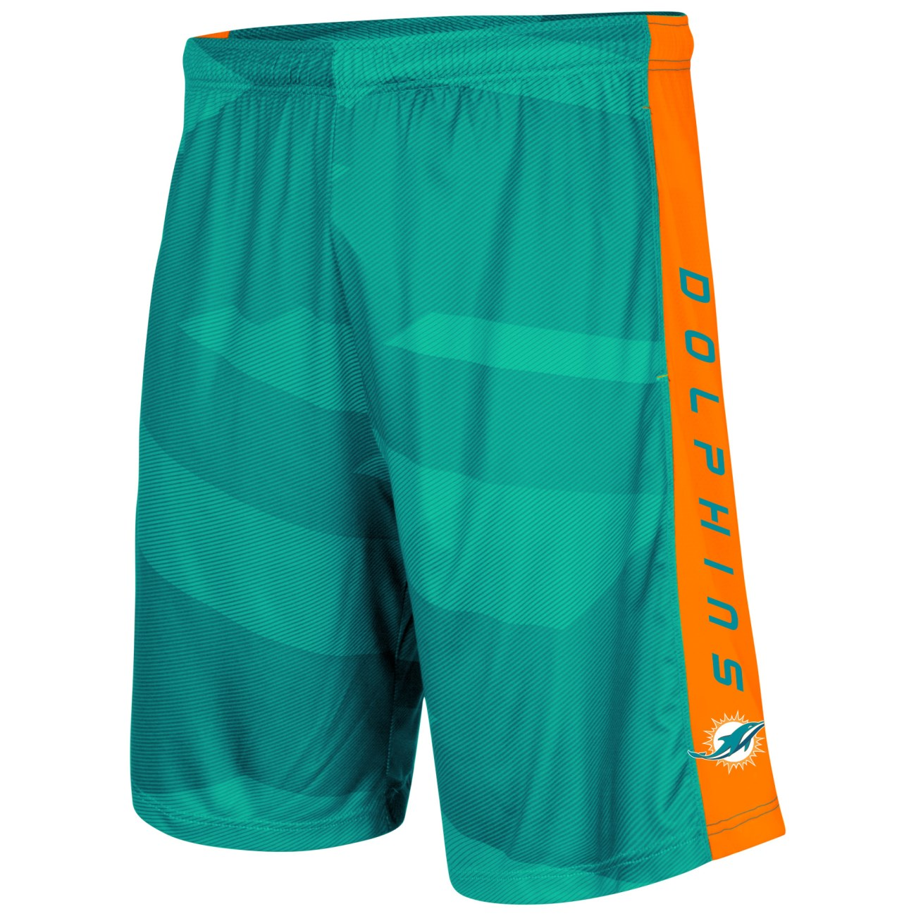 "Miami Dolphins Majestic NFL ""Out Run"" Men's Synthetic Shorts"