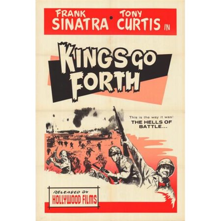 Posterazzi MOVCG1747 Kings Go Forth Movie Poster - 27 x 40 in. - image 1 of 1