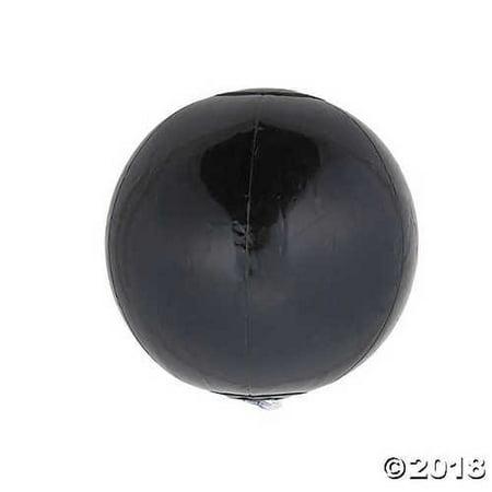 Inflatable Black Mini Beach Ball (Black Beach Ball)