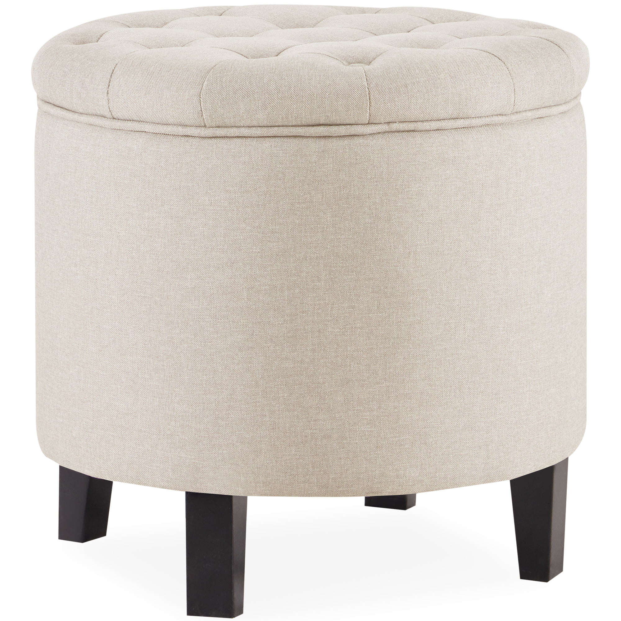 Upholstered X Large Fabric Ottoman Toy//Storage//Blanket Box Coffee Table Pouffe