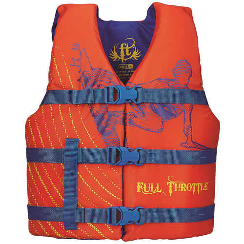 Full Throttle Youth Character Vest
