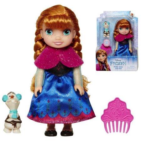 Petite Anna with Olaf Princess Doll 6