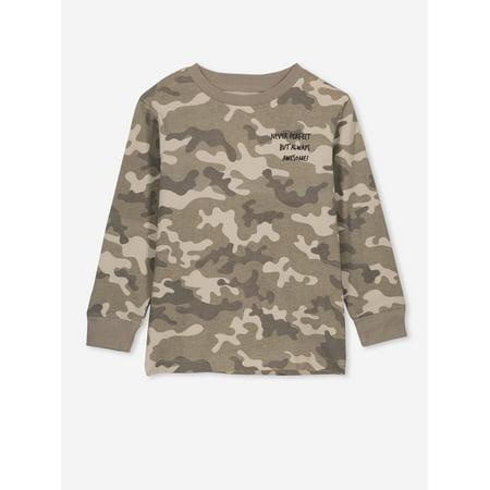 Cotton On Kids Boys 2-10 Skater Long Sleeve T-Shirt