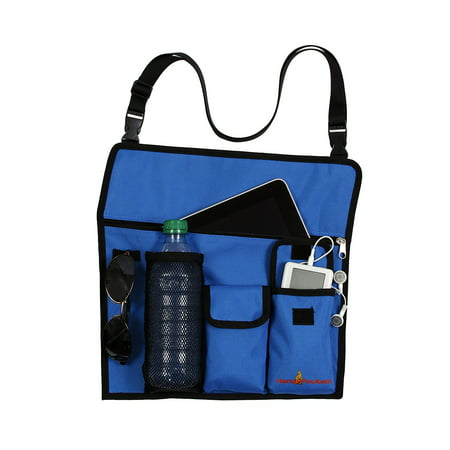 Handypockets Sline Tote Bag And Chair Organizer Color Blue Engineered Specifically To Attach
