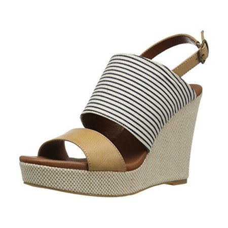 DOLCE by Mojo Moxy Womens Sailor Open Toe Casual Platform Sandals - Sailor Heels