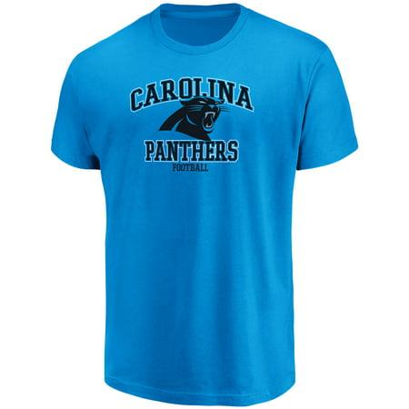 Pitt Panthers Sports - Men's Majestic Blue Carolina Panthers Greatness T-Shirt