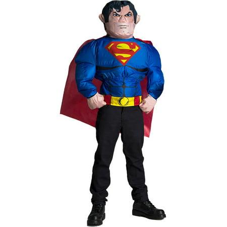 Superman Teen Costume (Mens Superman Inflatable Halloween Costume)