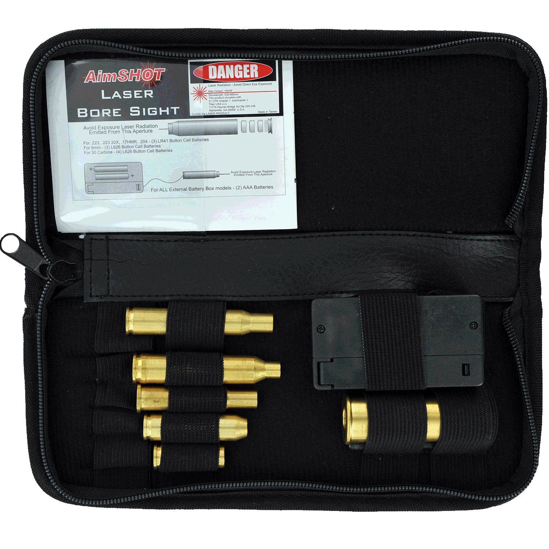 AimSHOT KT-Rifle Laser Bore Sight Kit for Major Calibers