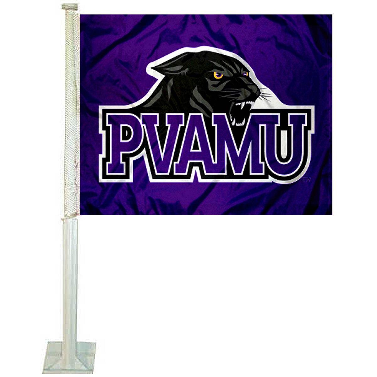 "Prairie View A&M University 12"" x 15"" Car Flag"