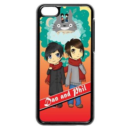 Dan And Phil Bbc Radio 1 Halloween (Dan And Phil Totoro iPhone 5c)