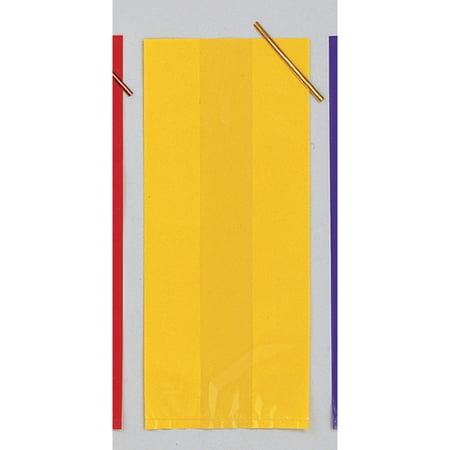Yellow Cello Favor Bag, 20 pk