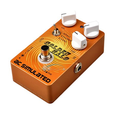 Caline CP-35 Halo Pedal Guitar Effect Pedal Good Sounding Acoustic Simulator Pedal with True Bypass - Golden