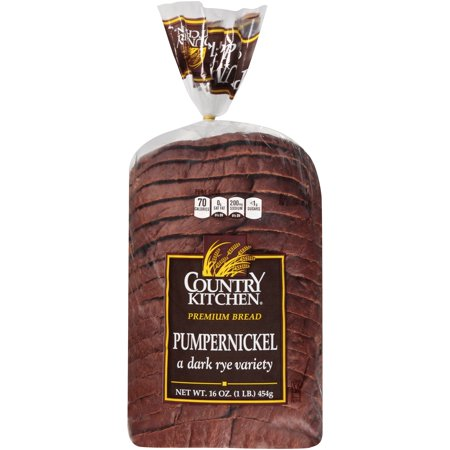 Country Kitchen® Pumpernickel Bread 16 oz  Loaf - Walmart com