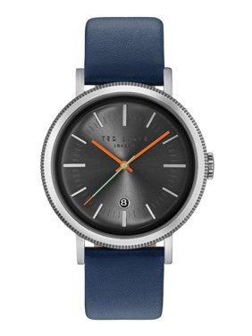 Ted Baker Men's Blue Leather Band With Grey Analog Dial Watch 10031505