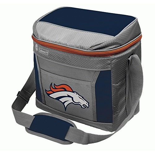 NFL Denver Broncos 16 Can Soft-Sided Cooler with Ice, Blue