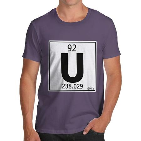 Mens t shirt periodic table element u uranium funny tee shirts for mens t shirt periodic table element u uranium funny tee shirts for men walmart urtaz Image collections
