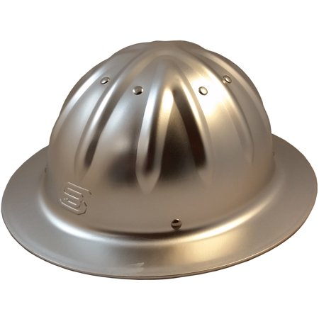 Toy Hard Hat With Light (Skull Bucket Metal Hard Hats Full Brim with Ratchet Suspensions -)
