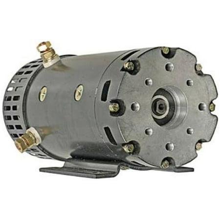 24 VOLT ELECTRIC MOTOR FITS JLG SCISSOR LIFT 1532E2 1932E2 2032E2 2632E2 2646E2](lift mate boat lift motor)