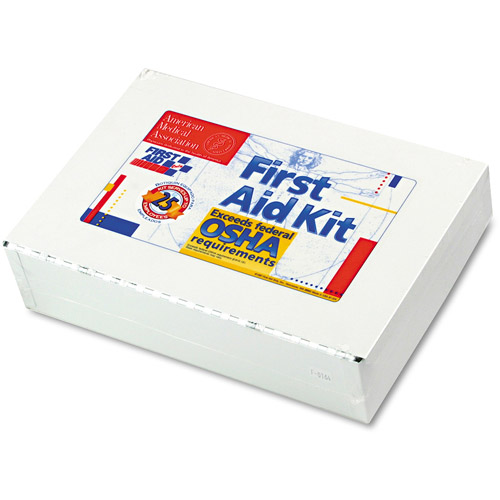 First Aid Only First Aid Kit & Metal Case, 106 pc