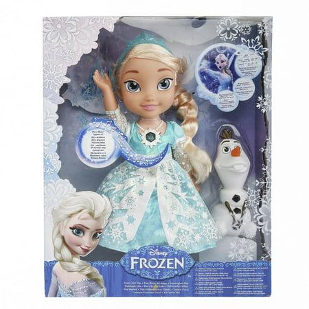 Disney Frozen Snow Glow Elsa Singing Doll (Discontinued by manufacturer)](Elsa Snow Queen Frozen)