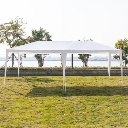 3 x 6m Four Sides Outdoor Canopy Rain-Proof Sunscreen Parking Shed Camping Tent Waterproof Wedding Party Awning