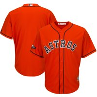 Houston Astros Majestic 2019 Postseason Official Cool Base Team Jersey - Orange