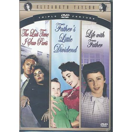 Elizabeth Taylor - Hollywood Legends - Life With Father/Father's Little  Dividend/The Last Time I Saw