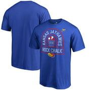 Kansas Jayhawks Fanatics Branded 2018 NCAA Men's Basketball Tournament Final Four Bound Charge T-Shirt - Royal