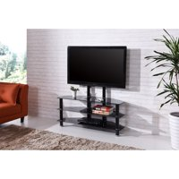Hodedah Imports 43 in. TV Stand with Mount