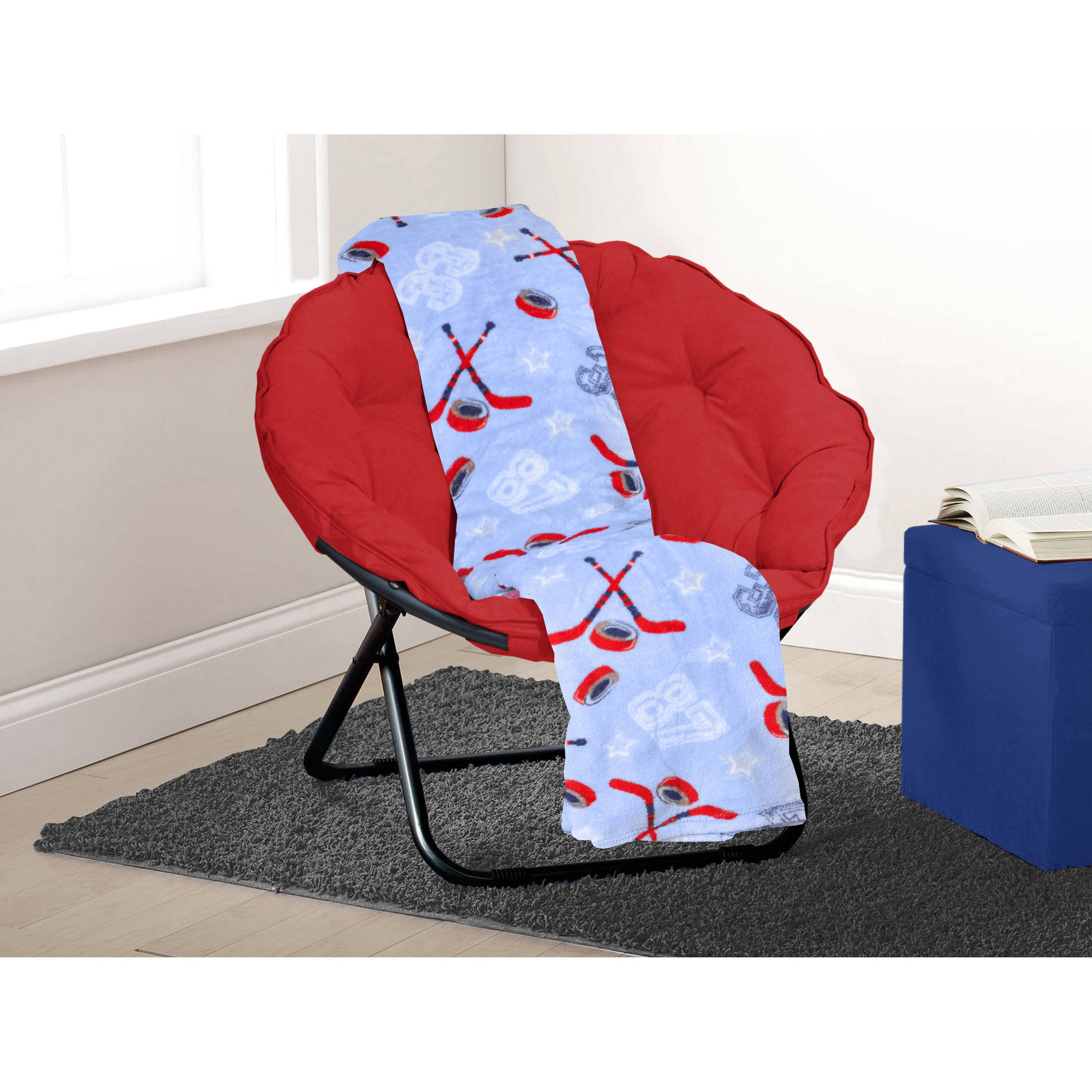 Mainstays Kids Sport Printed Plush Throw