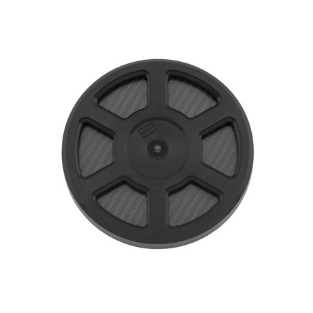 Brass Balls Cycles BB03-152 Defender Air Cleaner Cover - Black