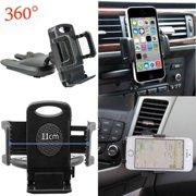 DZT1968 New Universal Car CD Slot Mobile Phone GPS Sat Nav Stand Holder Mount Cradle