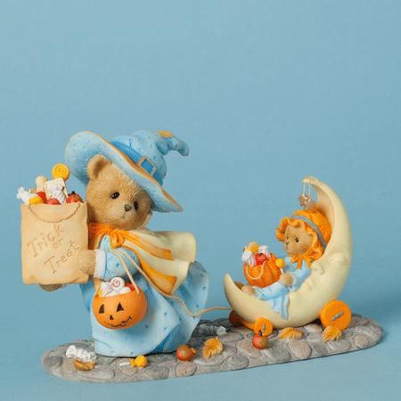 Cherished Teddies 4040453 Halloween Trick or Treat  Ann & Connie  Retired