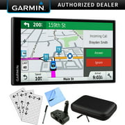 Garmin DriveSmart 61 NA LMT-S Advanced Navigation GPS with Smart Features Deluxe Bundle