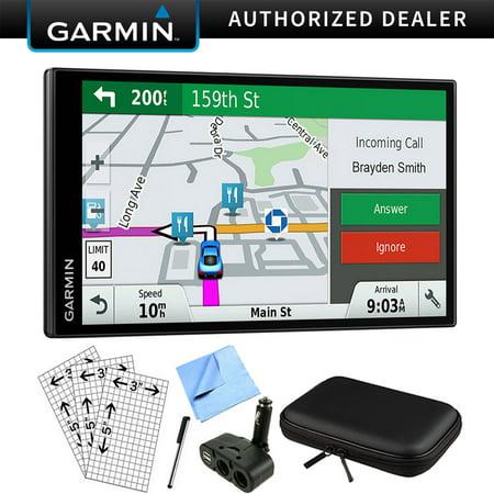 Garmin DriveSmart 61 NA LMT-S Advanced Navigation GPS with Smart Features Deluxe (Best Garmin Gps Navigation)