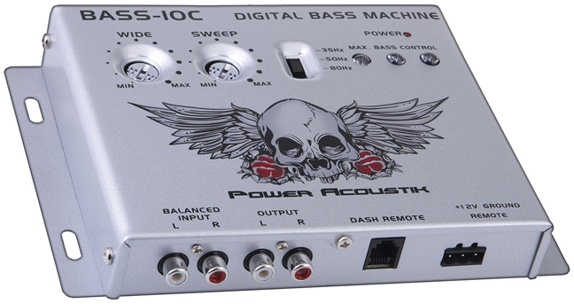NEW BASS CONTROL POWER ACOUSTIK PARAMETRIC BASS10C