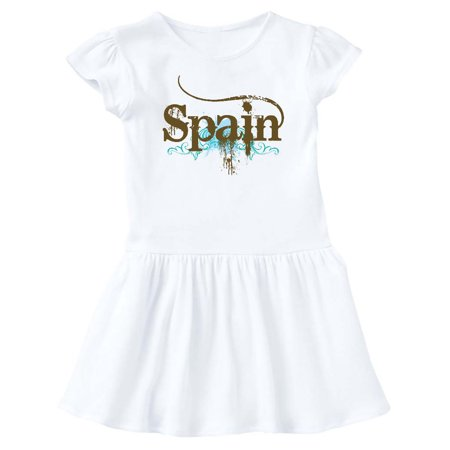 Spain Country Grunge Shirts Infant Dress - Spanish Dresses