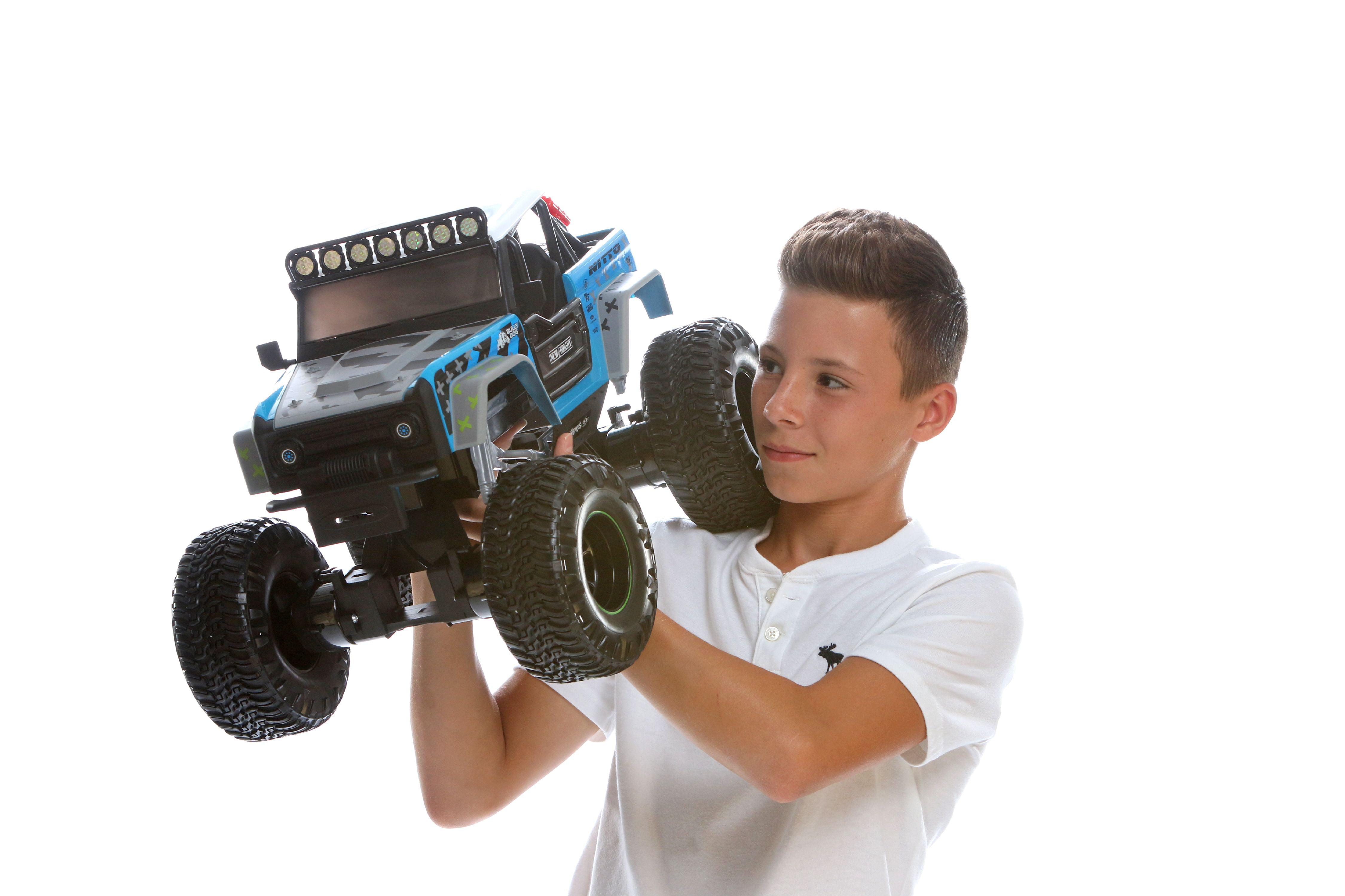 New Bright RC Vaughn Gittin Jr  Ford Bronco Rock Crawler