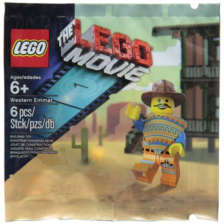 Lego Western Emmet The Lego Movie Exclusive Figure 5002204](Lego Emmet Costume)