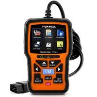 Foxwell NT301 OBD2 Scanner Automotive Code Reader Check Engine Light I/M Readiness Freeze Frame Data Stream O2 Oxygen Sensor Test Monitoring OBDII ODB 2 Car Diagnostic Scan ToolGift: Protective Bag