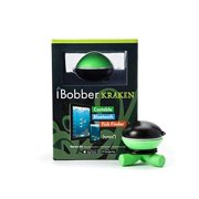 ReelSonar iBobber Wireless Bluetooth Smart Fish Finder iOS Android Devices, Black/Green