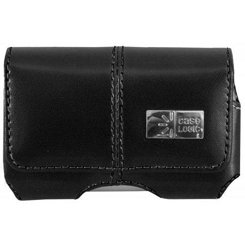 Bytech Ny CLP124V3B Black Universal Horizontal Leather Slim Cell Phone Case