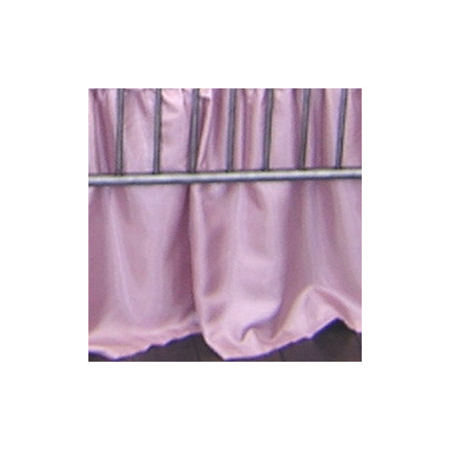 Blueberrie Kids Pink Champagne Dust Ruffle by Black Flag