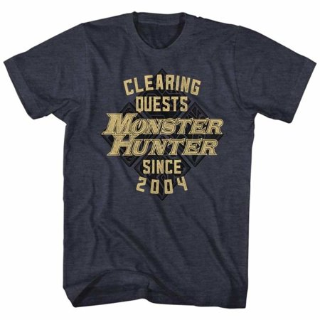Monster Hunter Gaming Mh Since04 Adult Short Sleeve T - Gaming Costumes