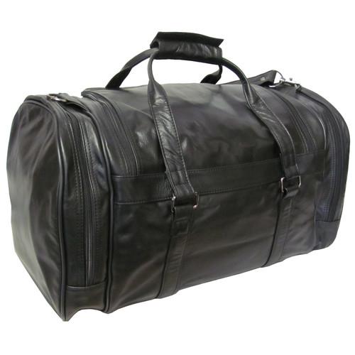 Amerileather 20'' Leather Travel Duffel