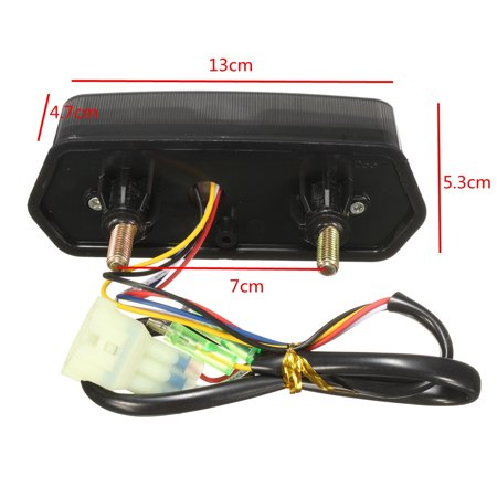 Motorcycle turnsignal LED Brake Tail Light Integrated Turn Signals For Honda MSX 125 Grom - image 2 of 10