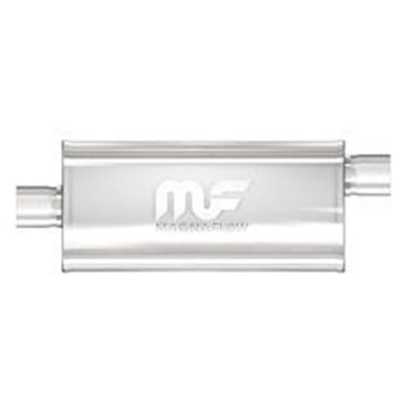 5 x 8 in. Natural Performance Mufflers - Stainless Steel - image 1 of 1