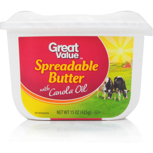 Great Value Spreadable with Canola Oil, 15 oz